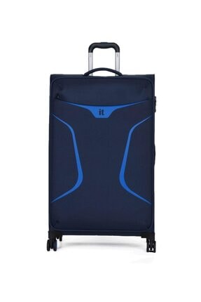 ITLUGGAGE It2265-l Lacivert/mavi Unısex Büyük Boy Valiz