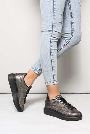 Fast Step Çelik Simli Kadın Sneaker Ayakkabı 928za102