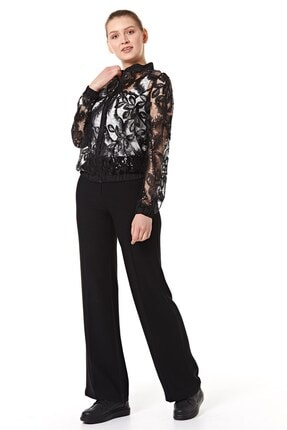 Nihan Kadın Siyah Ceket B5206