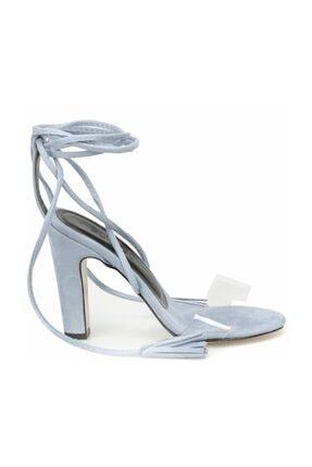 Butigo Açık Mavi Kadın Sandalet 000000000100345561