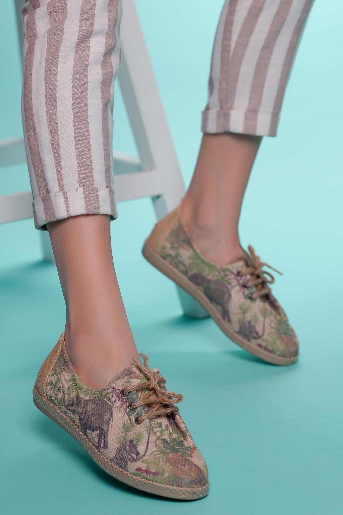 Muggo Multi Kadın Casual Ayakkabı DPRMGFLRW318
