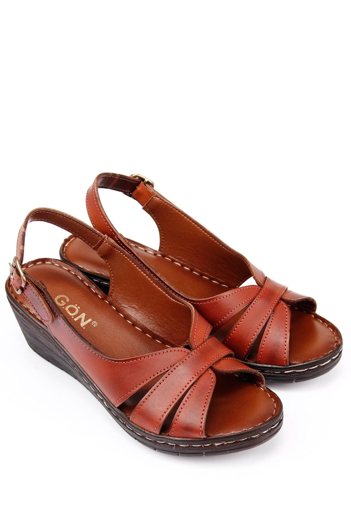 GÖN Taba Kadın  Sandalet 45131