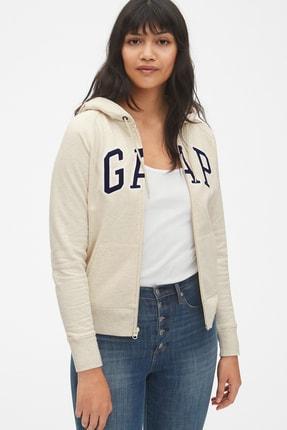 Gap Kadın Logo Kapüşonlu Sweatshirt 268816