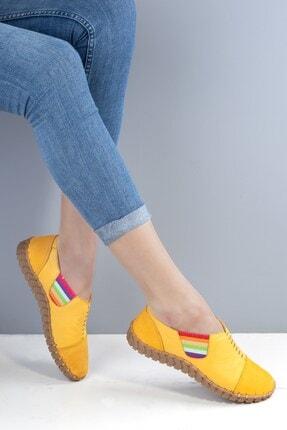 Venüs Kadın Sarı Ayakkabı