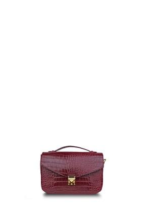 Housebags Bordo Kadın Omuz Çantası 162