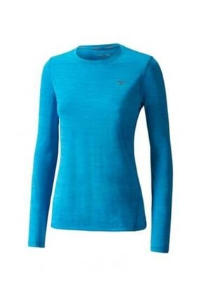 Mizuno Kadın Sweatshirt - J2GA772219 Impulse Core LS Tee - J2GA772219