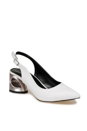 Butigo BARBARA Beyaz Kadın Topuklu Ayakkabı