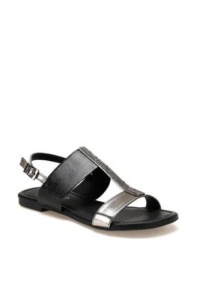 Missf DS20032 Siyah Kadın Sandalet