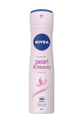 Nivea Pearl Beauty Kadın 150 ml Deodorant 6'lı Set