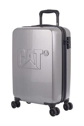 CAT Gümüş Unisex Kabin Boy Valiz 5711013058791