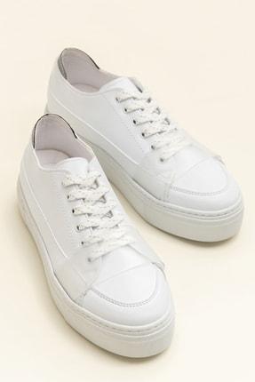 Elle JEPSON Beyaz Kadın Ayakkabı