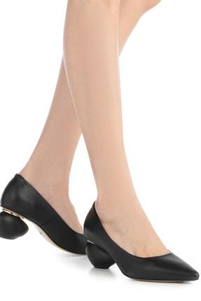 İlvi Kadın Topuklu Ayakkabı Siyah Deri Ecco-4088.1001