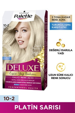 Palette Deluxe 10-2 Platin Sarısı