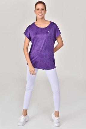 Bilcee Mor Kadın T-Shirt GS-8075