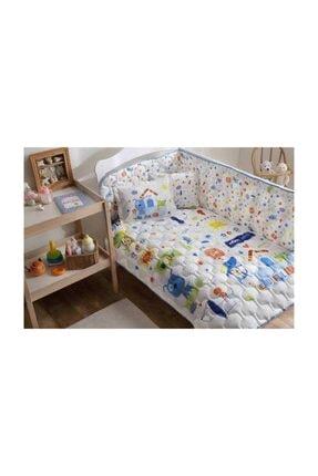 Bebek Uyku Seti Happy Dogs Mavi 3765-06