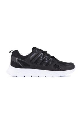 Slazenger Kronos Sneaker Kadın Ayakkabı Siyah / Beyaz