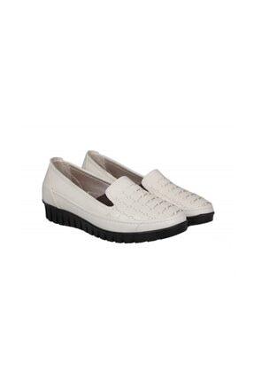 Punto 651431 Bej Kadın Günlük Anne Ayakkabısı