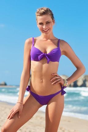 No Gossip Kadın Dolgulu Bikini Üst 209101 Mor