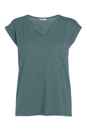 Pieces Kadın North Atlantic Çizgili T-Shirt 17078572 PCBILLO 17078572
