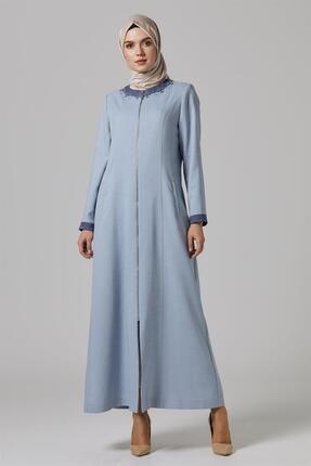Doque Kadın Pardesü Mavi