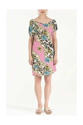 Societa Desenli Örme Elbise Pembe 91021