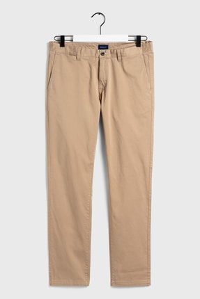 Gant Erkek Bej Slim Fit Chino Pantolon 1500011