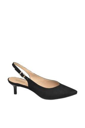 Graceland Deichmann Siyah Kadın Arkası Bantlı Ayakkabı