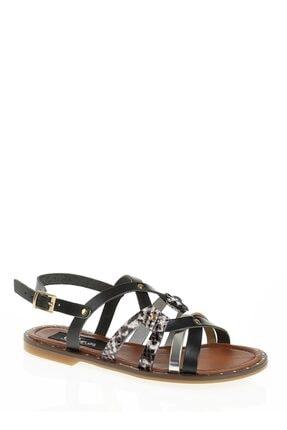Derigo 52481siyah Kadın Sandalet