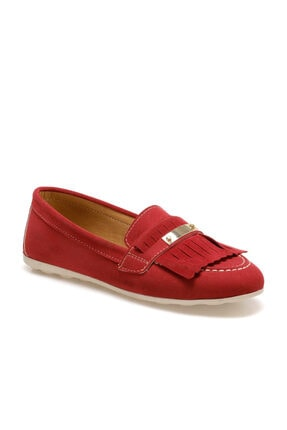 Butigo Dolly Kırmızı Kadın Loafer Ayakkabı