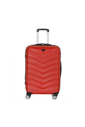 Travel Soft Kırmızı Kadın Orta Valiz U Mkn 6112-o