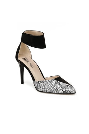 Butigo Kadın Berfe Siyah Gova Ayakkabı
