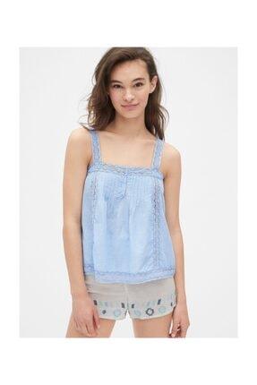 Gap Kadın Kadın Dreamwell Dantel Detaylı Bluz 469126