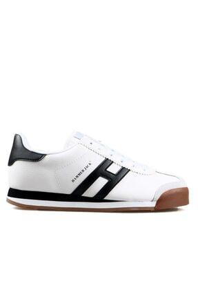 Hammer Jack Beyaz Siyah Unisex Ayakkabı