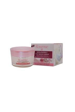 Rosense Spf15 Nemlendirici Yüz Bakım Kremi/gül Yağı+e Vitamini+shea Butter 50ml  8693347006060