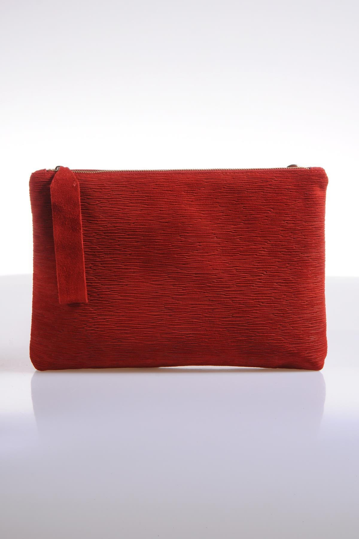 Sergio Giorgianni Kadın Kırmızı Omuz Çantası sgzd084-3-kırmızı