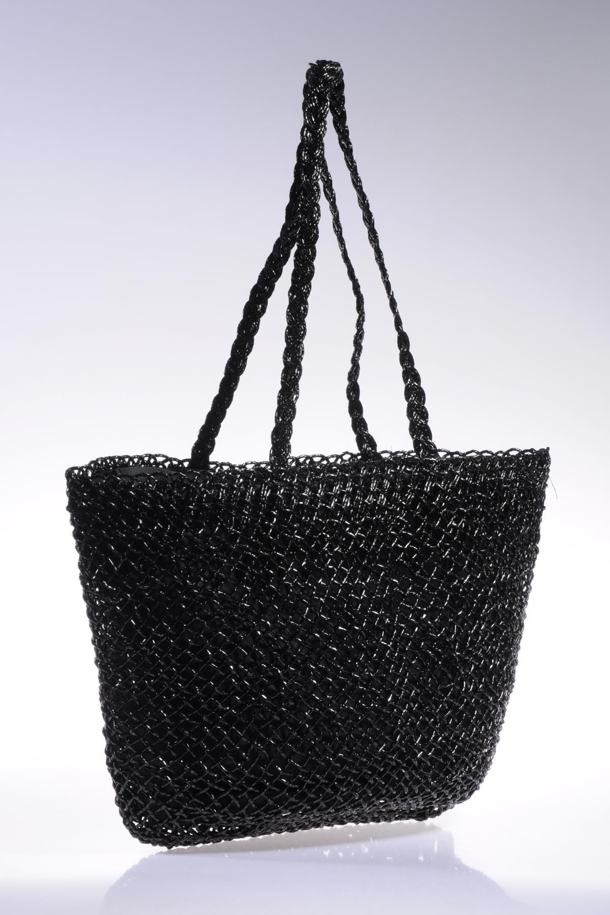 Sergio Giorgianni Kadın Siyah Omuz Çantası sghsr1014-siyah