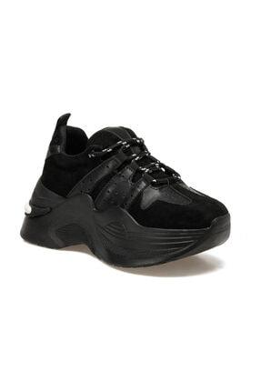 Butigo Arkin Siyah Kadın Kalın Taban Sneaker Spor Ayakkabı