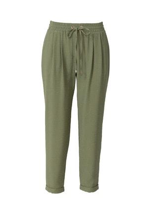 Seçil Kadın Elastik Bel Pantolon - 3007 Yeşil