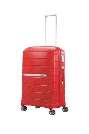 Samsonite Kırmızı Unisex Flux - Spinner 68 Cm Orta Boy Valiz 32857