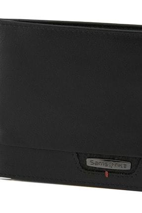 Samsonite Siyah Unisex Pro-Dlx 4S Slg - Erkek Deri Cüzdan 30026