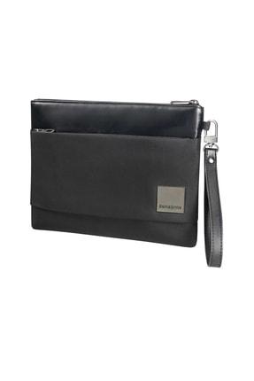 "Samsonite Siyah Unisex Hip-Square-Flat Tablet Clutch M 7.9"" 49073"