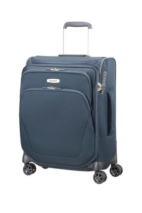 Samsonite Mavi Unisex Spark Sng - 55 Cm Kabin Boy 4 Tekerlekli Valiz 11837