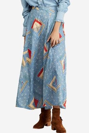 Ralph Lauren Kadın Mavi Etek 1446987202612