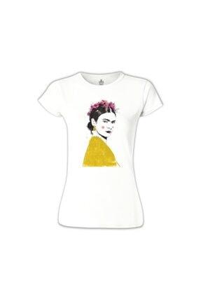 Lord Kadın Beyaz Frida Shade Tshirt