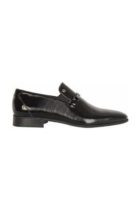 Pierre Cardin 1161460 Siyah %100 Deri Rugan Erkek Klasik Ayakkabı