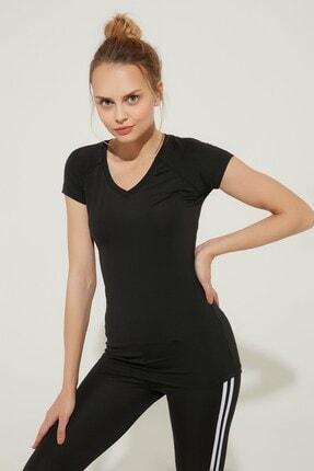 Zindi Kadın Spor T-Shirt Siyah 19YK-1071027-002