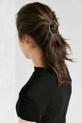 New Look Kadın Gümüş Yuvarlak Klipsli Toka