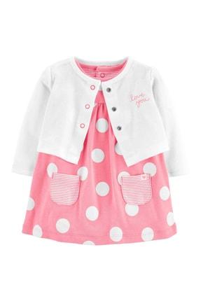 Carter's Layette Kız Bebek Elbise Hırka Set