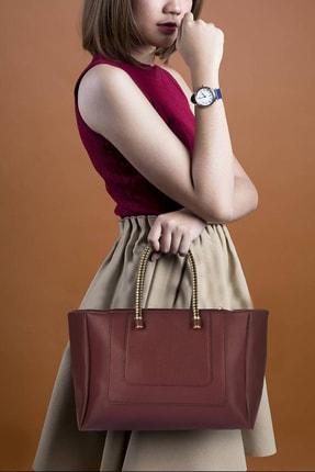 Housebags Bordo Kadın Çanta 758