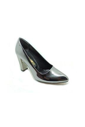 Abıye Bayan Kalın Topuk Ayakkabı 425013 PRA-1265708-472848